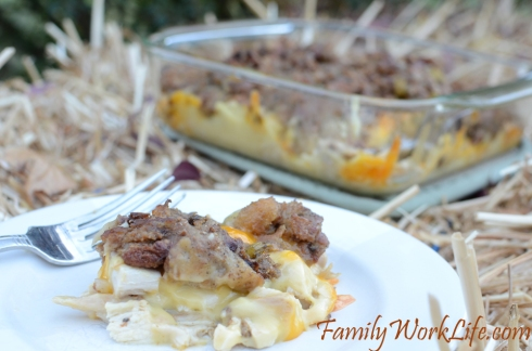 thanksgiving leftovers turkey stuffing casserole